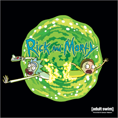 rick & morty logo